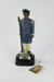 Te Rauparaha musical figurine Bourbon Whisky bottle; James B. Beam Distilling Co.; 00966.1-.3