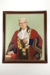 Sir Dove Myer Robinson painted portrait; C. Correllii; 05056