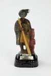 Hone Hika musical figurine Bourbon Whisky bottle; James B. Beam Distilling Co.; 00967.1-.3