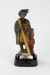 Hone Hika musical figurine Bourbon Whisky bottle; James B. Beam Distilling Co.; 00967.1-.3