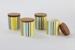 Set of four Cordon Bleu spice jars; Crown Lynn Potteries Ltd; 1964 - 1969; 00240.1-.4