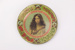Maori maiden plate; Arthur James Iles; George Hadfield & Co.; circa 1901 - 1905; 00826