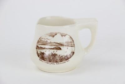 Auckland souvenir shaving mug; 00397