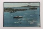 Her Majesty's Yacht Britannia in Auckland photographic print; Whites Aviation Ltd; 05015