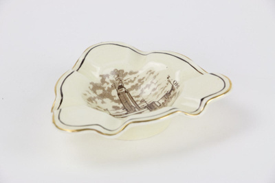 Centennial Exhibition ashtray; Crown Ducal; 00421