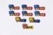 Wagon whistles; 01515.1-.9