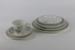 Green Bamboo 7-piece dinnerware set; Crown Lynn Potteries Ltd; 00016.1-.7