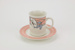 Venice cup and saucer set; Crown Lynn Potteries Ltd; circa 1980's; 02271.1-.2