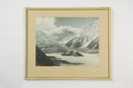 Mt Cook framed photographic print; Whites Aviation Ltd; circa 1955; 04903