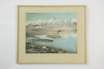 Queenstown framed photographic print; Whites Aviation Ltd; circa 1950; 04905