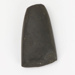 Stone adze; New Zealand; 01326