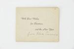 Christmas card and photograph; Hardcastle Photography; 01484