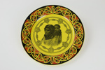 Maori mother and child plate; Royal Doulton; circa 1930; 00974