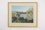 Glendhu Bay framed photographic print; Whites Aviation Ltd; 1954; 04901
