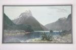 Mitre Peak photographic print; Whites Aviation Ltd; 05000