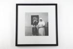 Catholic nurse with her patient photographic print; Glenn Busch; 05093