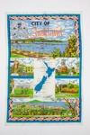 Souvenir Auckland tea towel; 00695