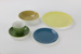 Colour glaze 20-piece dinnerware set; Crown Lynn Potteries Ltd; circa 1970s - 1980s; 00167.1-.20