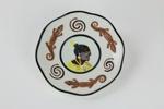 Souvenir plate; 00975