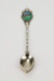 New Zealand kiwi souvenir teaspoon; 01448