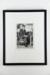 Man at an outdoor café' photographic print; Glenn Busch; 1973; 05106