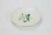 White rose plate; Crown Lynn Potteries Ltd; circa 1955-1989; 01945