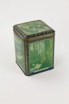 Amber tips tin tea caddy; A. Harvey & Sons Ltd; 01264