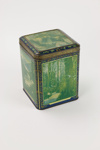 Amber tips tin tea caddy; A. Harvey & Sons Ltd; 01264