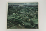 Small town aerial photographic print; Whites Aviation Ltd; 05072