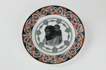 Maori mother and child plate; Royal Doulton; circa 1930; 00973