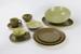 Palm Springs 29-piece dinnerware set; Mark Cleverly; Dorothy Thorpe; Crown Lynn Potteries Ltd; 1965 -; 00163.1-.29