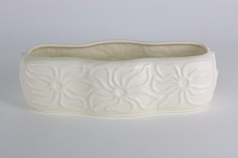 Trough Vase Crown Lynn Potteries Ltd Circa 1945 1950 00030 On Ehive