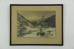 Winter sunshine photographic print; 05121