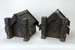 Wharenui shaped coal boxes; 02171.1-.2