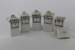 Set of spice jars; 00015.1-.5