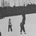 Photograph - Ken Kennedy walks past the saluting base, Winter Olympics,Garmisch-Partenkirchen, Germany; 1936; WSP 000001