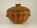 Wooden bowl; SLNM.1966.01.02