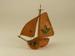 Miniature boat; SLNM.2011.007.07