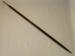 Spear; SLNM.1960.10.03