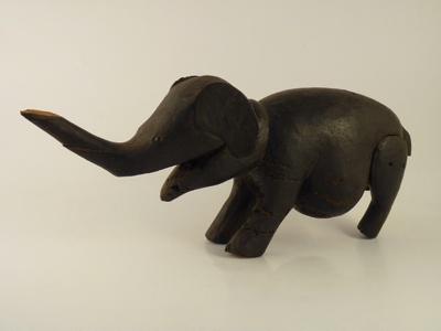 Carving; elephant; Beah Konnie; SLNM.1964.04.01