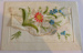 World War I Embroidered Card ; French Cottage Industry; Unknown; 7
