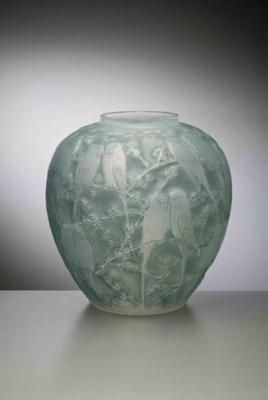 Perruches (Parakeets) (Opalescent); Rene Lalique; JR00016.2