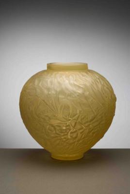 Gui (mistletoe) (yellow); Rene Lalique; JR00010.2