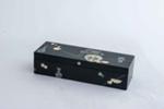 Korean lacquered box; JR00164