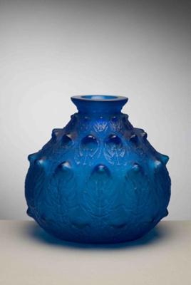 Fougeres (Fern) (Blue); Rene Lalique; JR00018.2