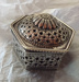 Hexagonal silver box; Unknown; JR00143.2