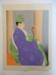 Le Pretre De Sendo-ji. Oiwake, Japon; Paul Jacoulet; 1954; JR00159.42