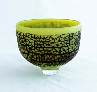 Olive Green with Black Murrini; Mike Pohl; JR00102.4