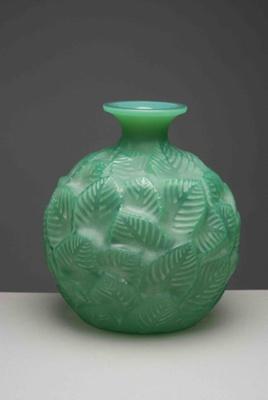 Ormeaux (Young Elm) (Green); Rene Lalique; JR00055.1