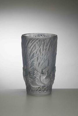 Coqs et Plumes (Roosters & Feathers); Rene Lalique; JR00074